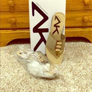 Brand New ANN KLEIN SPORT SLIP ON SANDLE